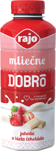Milk drink Dobrô Strawberry-white chocolate