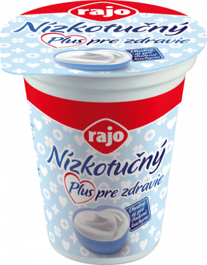 Low-fat yoghurt Plus for health