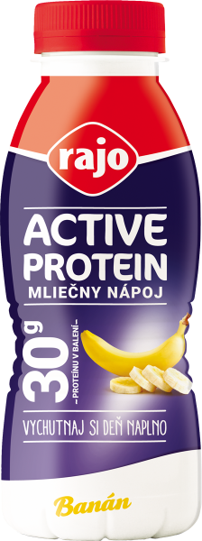 ACTIVE PROTEIN MILK DRINK BANANA