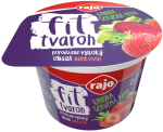 FIT CURD CHEESE STRAWBERRY - beetroot