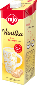 Flavoured milk VANILLA