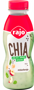 CHIA YOGHURT DRINK APPLE-BANANA-SPINACH